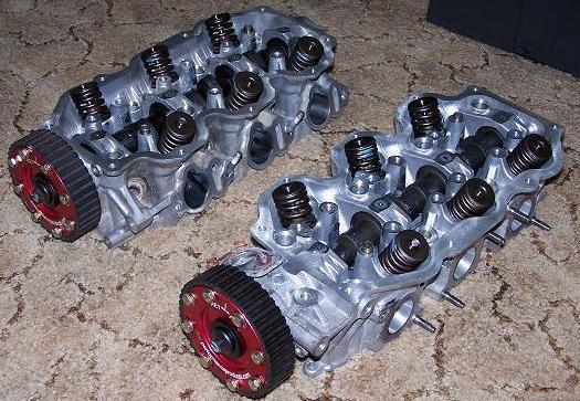 RedZ31 com: SOHC Nissan VG30E/ET head work